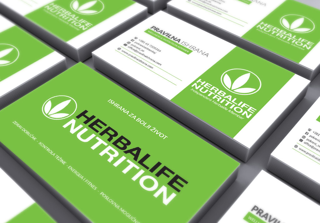Herbalife – vizit kartice